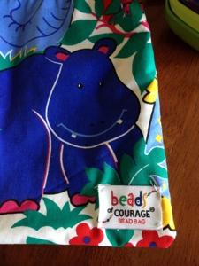 Lenox's Bead Bag